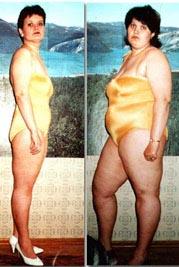 за 6 месяцев похудела на 8 кг
